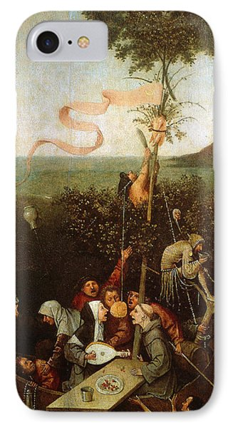 The Ship Of Fools IPhone Case by Hieronymus Bosch