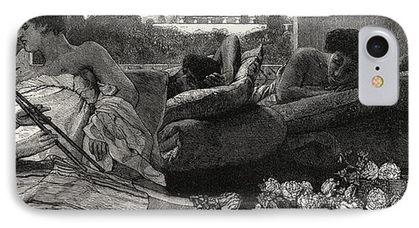 The Siesta IPhone Case by Sir Lawrence Alma-Tadema