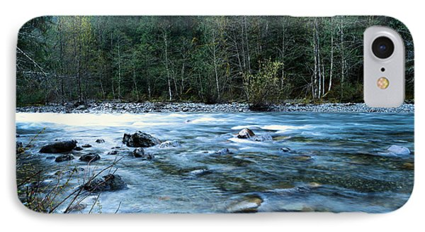 IPhone Case featuring the photograph The Snowqualmie River by Jeff Swan