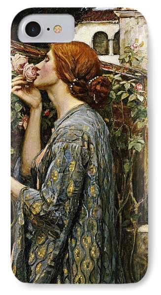 The Soul Of The Rose IPhone Case by John William Waterhouse