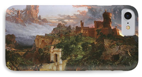 The Spirit Of War IPhone Case by Jasper Francis Cropsey