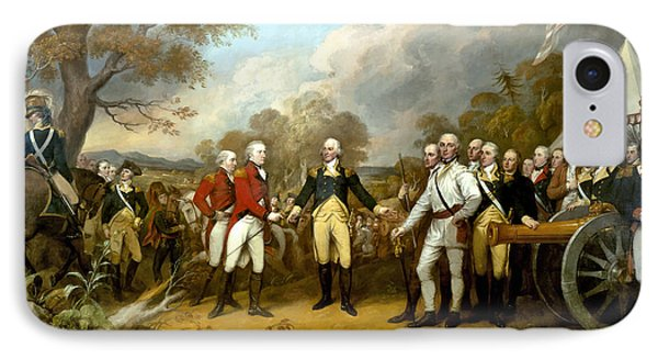 The Surrender Of General Burgoyne IPhone Case