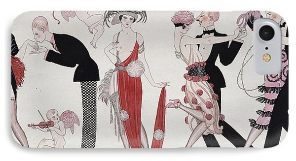 The Tango IPhone Case by Georges Barbier