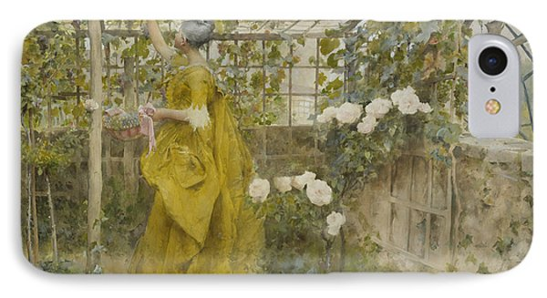 The Vine IPhone Case by Carl Larsson