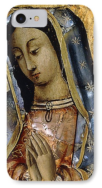 The Virgin Of The Guadaloupe IPhone Case by Mexican School