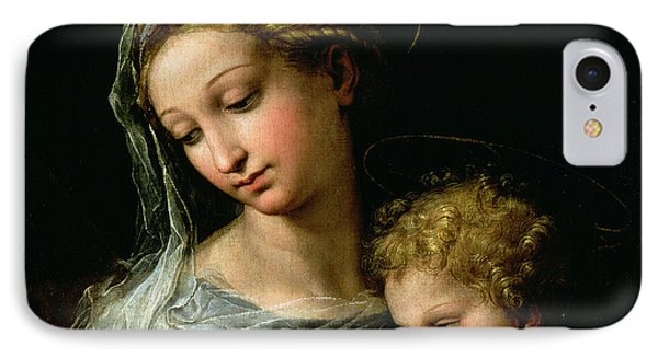 The Virgin Of The Rose IPhone Case