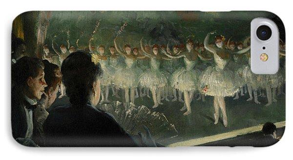 The White Ballet IPhone Case by Everett Shinn