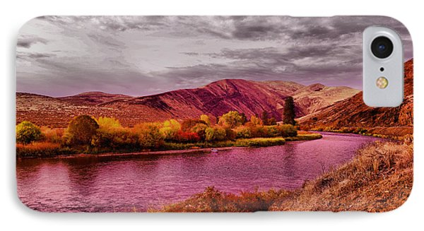 IPhone Case featuring the photograph The Yakima River by Jeff Swan