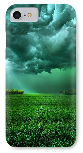 There Came A Wind IPhone Case by Phil Koch