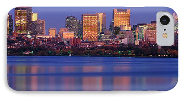 This Is The State Capitol And Skyline IPhone Case by Panoramic Images