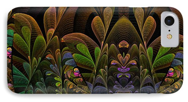 This Peculiar Life - Fractal Art IPhone Case by NirvanaBlues