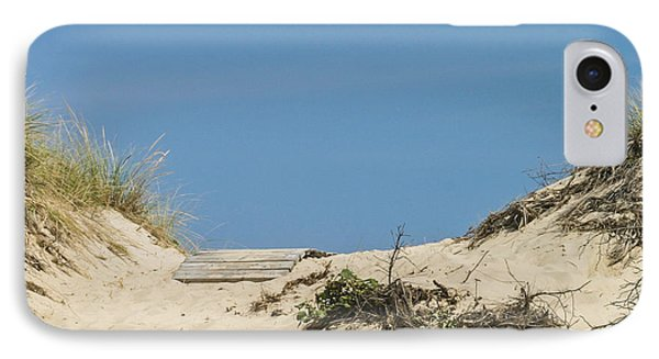 IPhone Case featuring the photograph This Way To The Beach by Michelle Wiarda