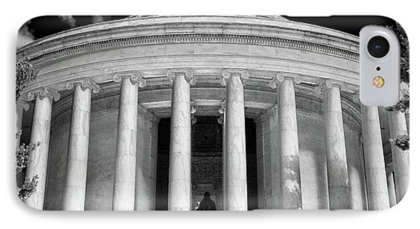 IPhone Case featuring the photograph Thomas Jefferson Memorial  by Mitch Cat