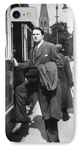 Thomas Wolfe (1900-1938) Phone Case by Granger