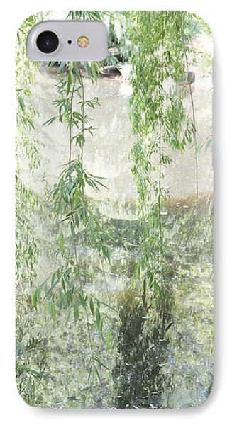 Through The Willows IPhone Case by Linda Geiger
