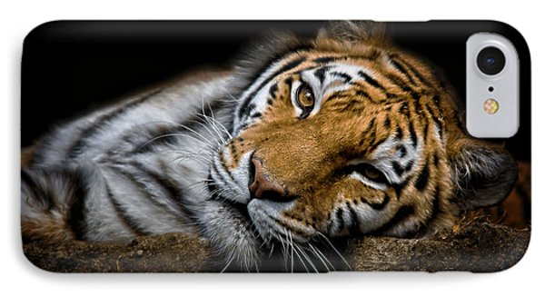 Tiger 2  IPhone Case by Emmanuel Panagiotakis
