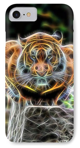 Tiger Collection IPhone Case by Marvin Blaine