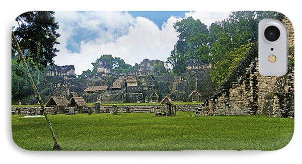 Tikal, Guatemala IPhone Case by Marius Sipa