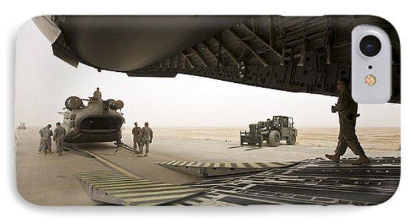 Tikrit, Iraq - A Ch-47 Chinook IPhone Case
