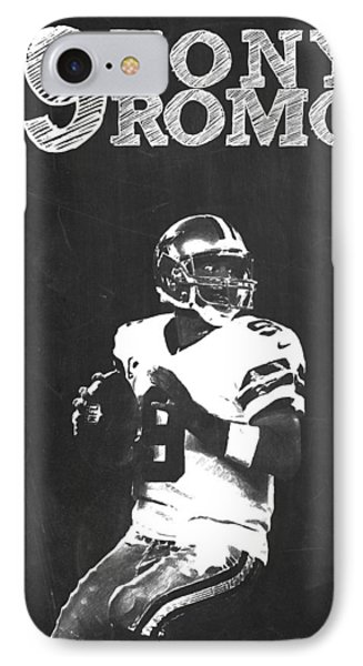 Tony Romo IPhone Case by Semih Yurdabak