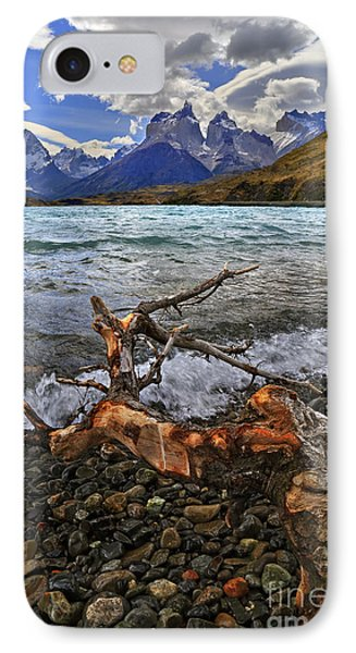 Torres Del Paine 17 IPhone Case by Bernardo Galmarini
