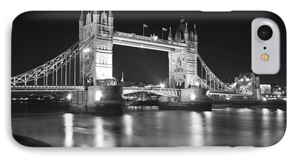 Tower Bridge On The Thames London IPhone Case by David French