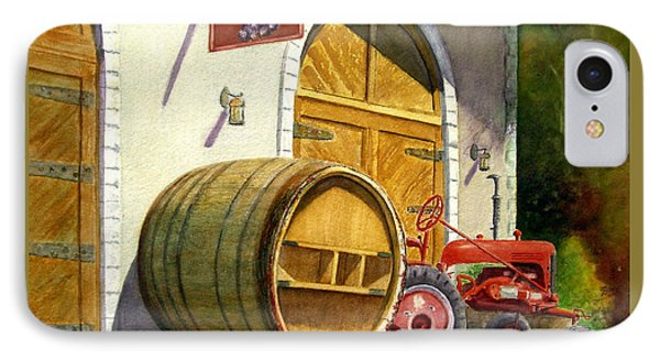 Tractor Pull IPhone Case by Karen Fleschler