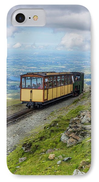 IPhone Case featuring the photograph Train To Snowdon by Ian Mitchell
