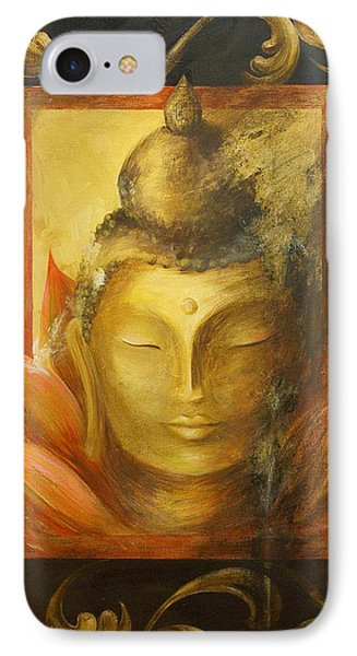 IPhone Case featuring the painting Transcendence by Dina Dargo