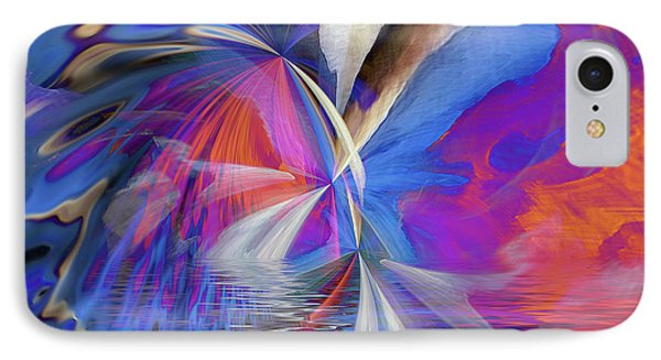 IPhone Case featuring the digital art Transition 2016 by Margie Chapman