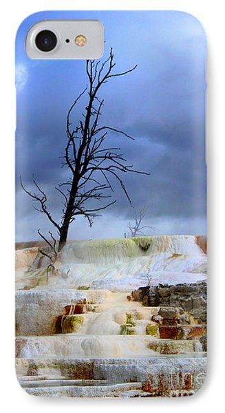 IPhone Case featuring the photograph Travertine Terraces by Irina Hays
