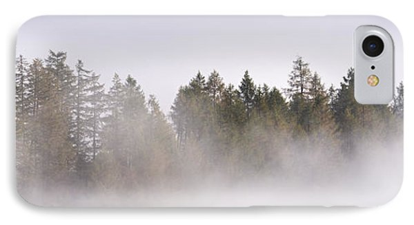 Trees In Mist IPhone Case by Rod McLean