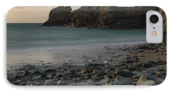 IPhone Case featuring the photograph Trevellas Cove by Brian Roscorla
