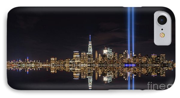 Tribute In Light Reflections  IPhone Case