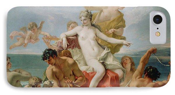 Triumph Of The Marine Venus IPhone Case by Sebastiano Ricci