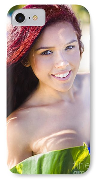 Tropical Island Woman IPhone Case by Jorgo Photography - Wall Art Gallery