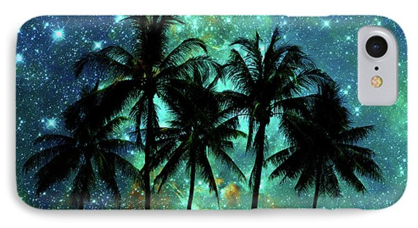 IPhone Case featuring the photograph Tropical Night by Delphimages Photo Creations