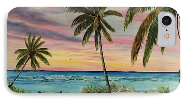 Tropical Paradise IPhone Case by Lloyd Dobson