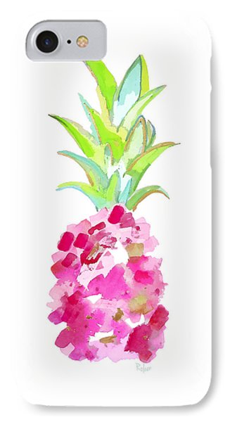 Tropical Pink And Gold IPhone 7 Case