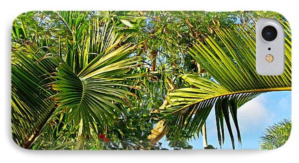 Tropical Plants Phone Case by Zalman Latzkovich