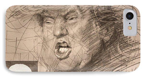 Trump IPhone 7 Case by Ylli Haruni