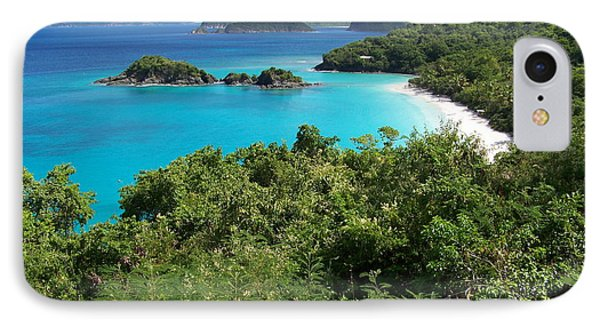 IPhone Case featuring the photograph Trunk Bay by Carol  Bradley