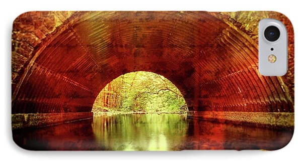 IPhone Case featuring the photograph Tunnel Vision by Alan Raasch