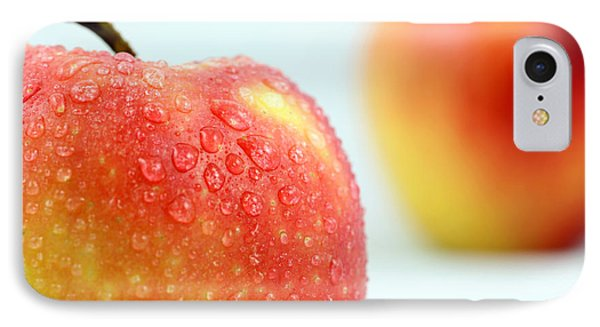 Two Red Gala Apples Phone Case by Paul Ge