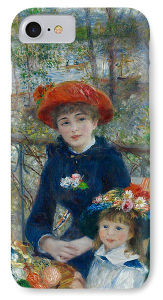 Two Sisters On The Terrace IPhone Case