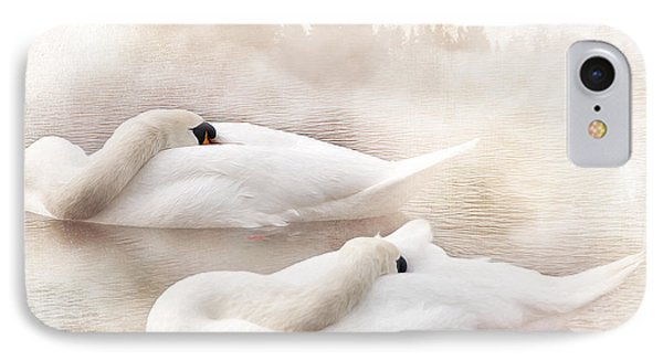 Two Swans Phone Case by Svetlana Sewell