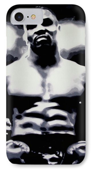 Tyson IPhone Case by Luis Ludzska