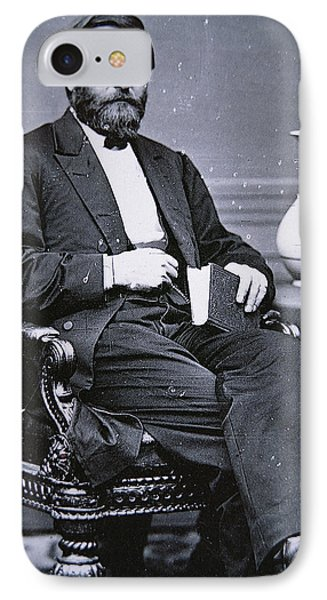 Ulysses Simpson Grant IPhone Case by Matthew Brady