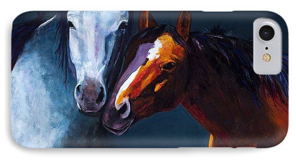 Unbridled Love IPhone Case by Frances Marino