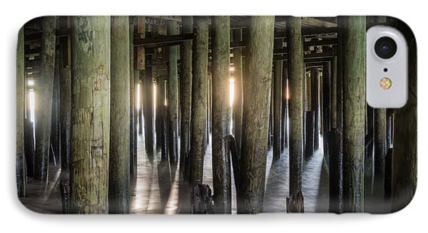 Under The Boardwalk IPhone Case by Kristopher Schoenleber
